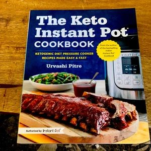 10$ add on The keto instant pot cookbook